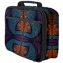Art Abstract Fractal Pattern Full Print Lunch Bag View4