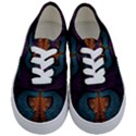 Art Abstract Fractal Pattern Kids  Classic Low Top Sneakers View1