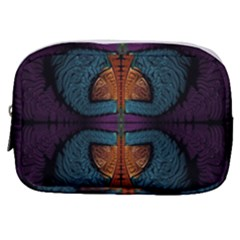Art Abstract Fractal Pattern Make Up Pouch (small)