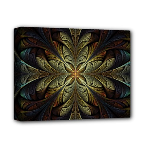 Fractal Art Abstract Pattern Deluxe Canvas 14  X 11  (stretched)