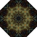 Fractal Art Abstract Pattern Hook Handle Umbrellas (Large) View1