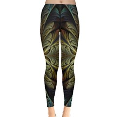 Fractal Art Abstract Pattern Leggings