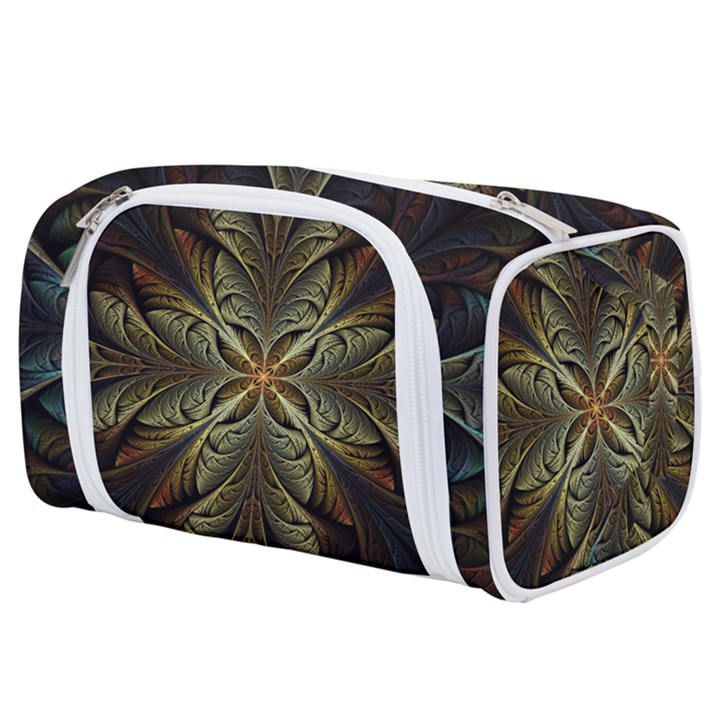 Fractal Art Abstract Pattern Toiletries Pouch