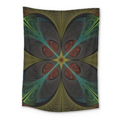 Fractal Art Abstract Pattern Medium Tapestry by Wegoenart