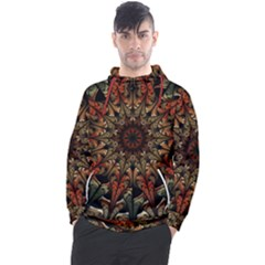 Art Abstract Fractal Pattern Men s Pullover Hoodie
