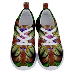 Fractal Abstract Flower Floral Running Shoes by Wegoenart