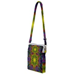 Fractal Abstract Background Pattern Multi Function Travel Bag by Wegoenart