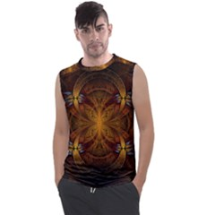Fractal Art Abstract Pattern Men s Regular Tank Top by Wegoenart