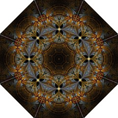 Fractal Art Abstract Pattern Golf Umbrellas by Wegoenart