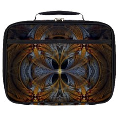 Fractal Art Abstract Pattern Full Print Lunch Bag by Wegoenart
