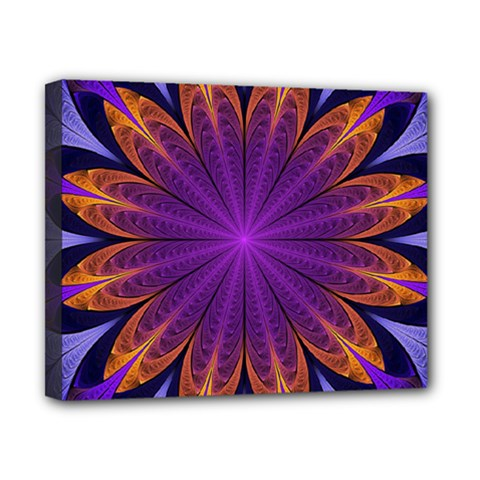 Art Abstract Fractal Pattern Canvas 10  X 8  (stretched) by Wegoenart