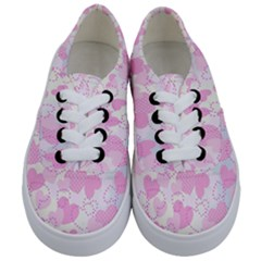 Valentine Background Hearts Bokeh Kids  Classic Low Top Sneakers