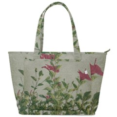 Botanical Vintage Style Motif Artwork 2 Back Pocket Shoulder Bag  by dflcprintsclothing