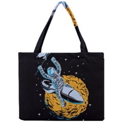 Astronaut Planet Space Science Mini Tote Bag