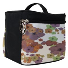 Multicolored Floral Collage Print Make Up Travel Bag (small) by dflcprintsclothing