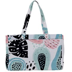 Seamless Pattern With Fruits Canvas Work Bag by Nexatart