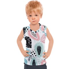 Seamless Pattern With Fruits Kids  Sport Tank Top