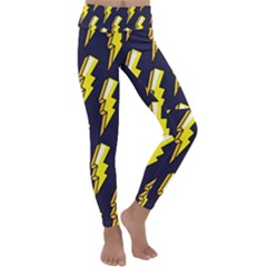 Pop Art Pattern Kids  Lightweight Velour Classic Yoga Leggings