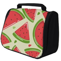 Cute Watermelon Seamless Pattern Full Print Travel Pouch (big)