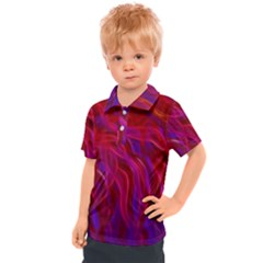 Background Texture Pattern Kids  Polo Tee