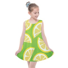 Lemon Fruit Healthy Fruits Food Kids  Summer Dress