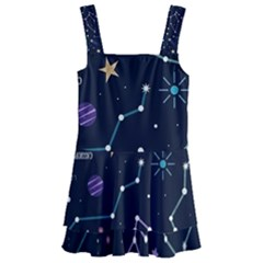 Space Wallpapers Kids  Layered Skirt Swimsuit by Nexatart