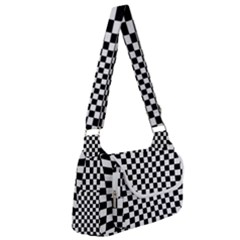 Illusion Checkerboard Black And White Pattern Multipack Bag