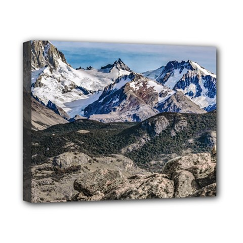 El Chalten Landcape Andes Patagonian Mountains, Agentina Canvas 10  X 8  (stretched) by dflcprintsclothing