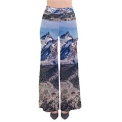 El Chalten Landcape Andes Patagonian Mountains, Agentina So Vintage Palazzo Pants by dflcprintsclothing
