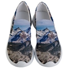 El Chalten Landcape Andes Patagonian Mountains, Agentina Women s Lightweight Slip Ons by dflcprintsclothing