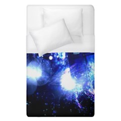 Tardis Background Space Duvet Cover (single Size) by Bejoart