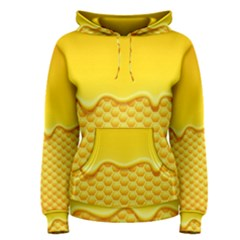 Sweet Honey Drips With Honeycomb Women s Pullover Hoodie by Vaneshart
