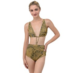 Pcb Printed Circuit Board Tied Up Two Piece Swimsuit by Vaneshart