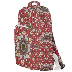 Seamless Carpet Pattern 1425828344vll Double Compartment Backpack by Sobalvarro