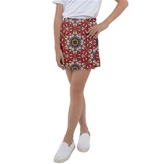 Seamless Carpet Pattern 1425828344vll Kids  Tennis Skirt by Sobalvarro