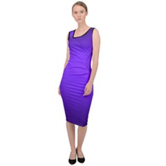 Blu Elettrico Sleeveless Pencil Dress