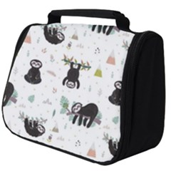 Cute Sloths Full Print Travel Pouch (big) by Sobalvarro