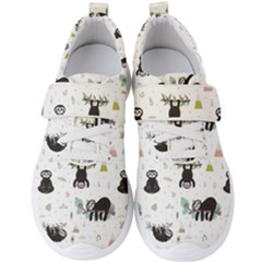 Cute Sloths Men s Velcro Strap Shoes by Sobalvarro