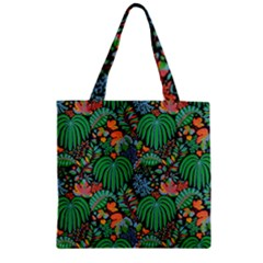 14 Zipper Grocery Tote Bag by Sobalvarro
