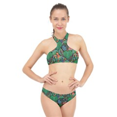 14 High Neck Bikini Set