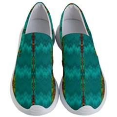 Shimmering Colors From The Sea Decorative Women s Lightweight Slip Ons by pepitasart