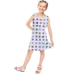 All The Aliens Teeny Kids  Tunic Dress by ArtByAng