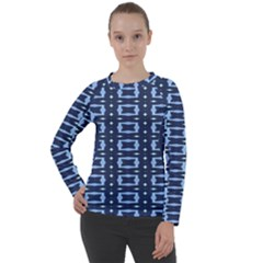 Digital Boxes Women s Long Sleeve Raglan Tee