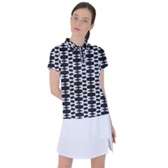 Geometric Women s Polo Tee