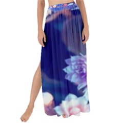 Flowers Maxi Chiffon Tie Up Sarong
