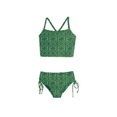 St Patricks Day Girls  Tankini Swimsuit by Valentinaart