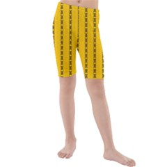 Digital Stars Kids  Mid Length Swim Shorts