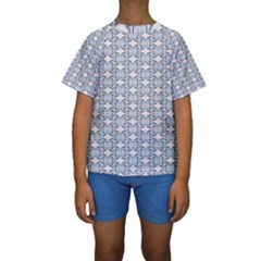 Digital Stars Kids  Short Sleeve Swimwear by Sparkle