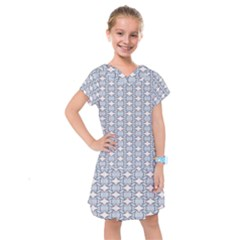 Digital Stars Kids  Drop Waist Dress