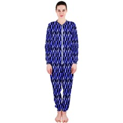 Blue Diamonds Onepiece Jumpsuit (ladies)